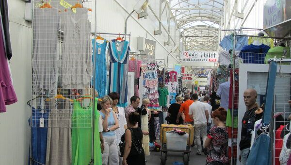 Рынок в Лужниках. Архив