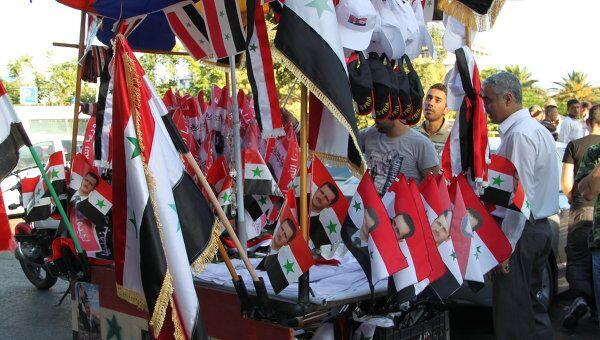 Акции протеста в Сирии