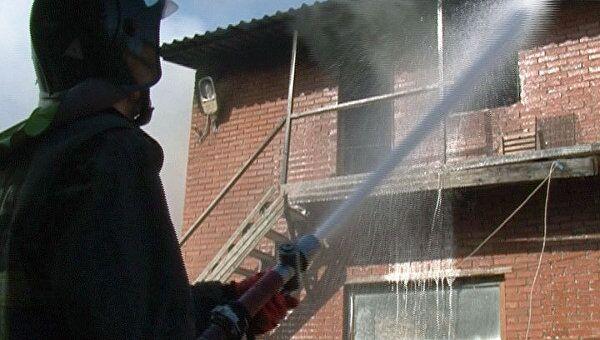 Густой дым осложнил тушение склада – пожарный о ЧП в Красногорске