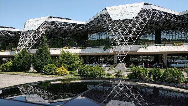 Новый аэровокзальный комплекс в Сочинском аэропорту. Архивное фото