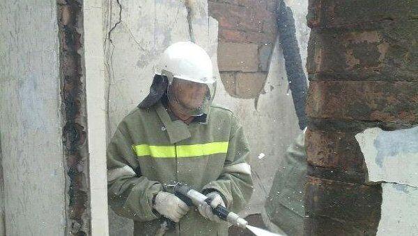 Пожар на газонаполнительной станции в Ростовской области
