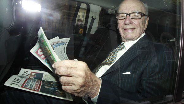 Основатель медиакорпорации News Corp. Руперт Мердок