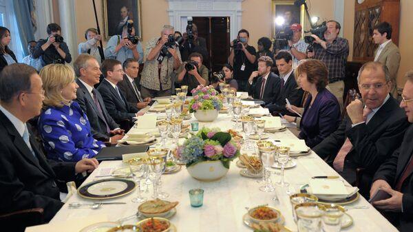 Заседание ближневосточного квартета