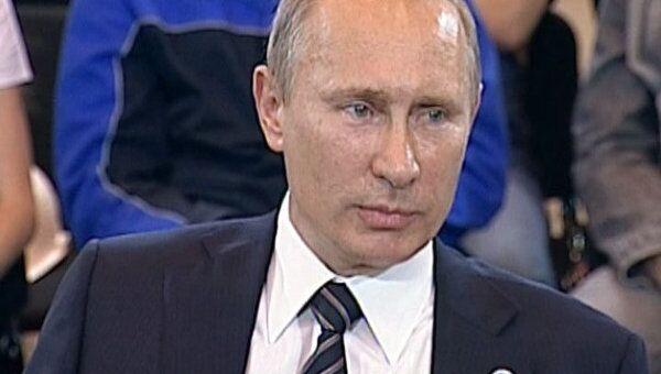 Путин признался, что переживал из-за своей реплики мочить в сортире