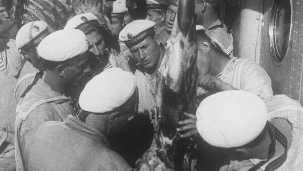Кадр из кинофильма Броненосец Потемкин. Архивное фото