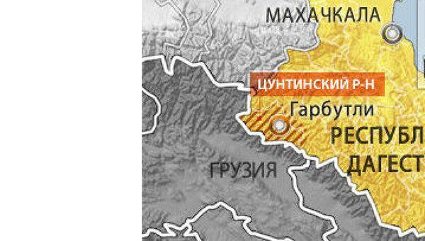 Цунтинский район Дагестана