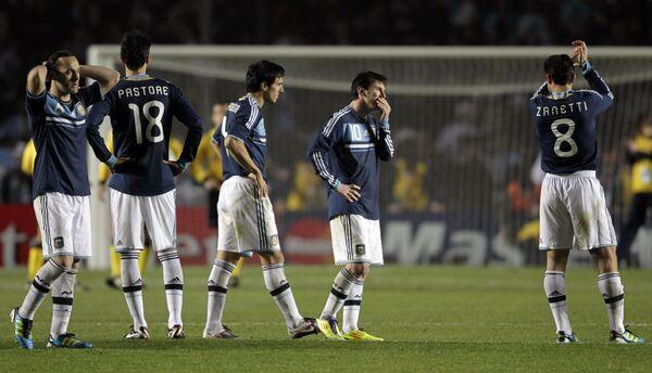 Футболисты сборной Аргентины