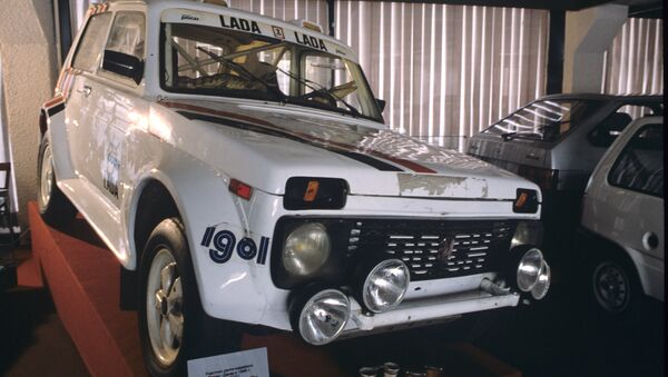 Автомобиль Нива. Архивное фото
