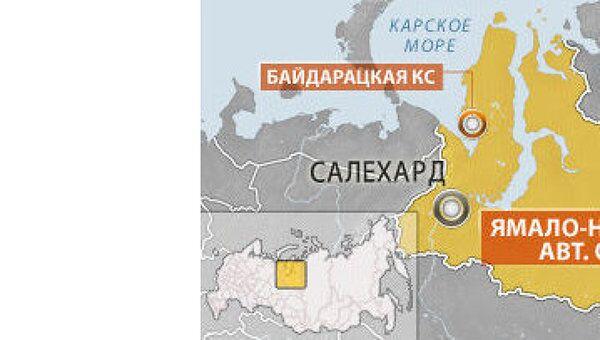 Взрыв произошел на компрессорной станции в ЯНАО
