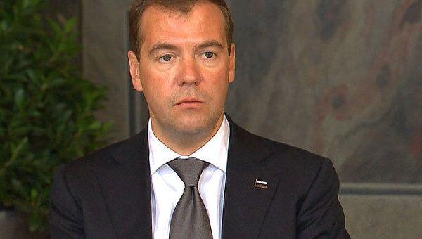 Медведев в Ганновере анонсировал запуск Северного потока