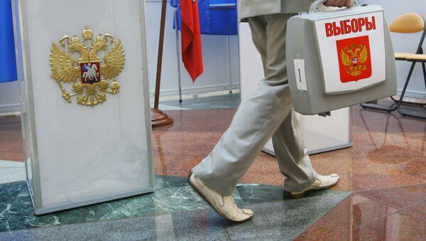 Подготовка к выборам в здании ЦИК