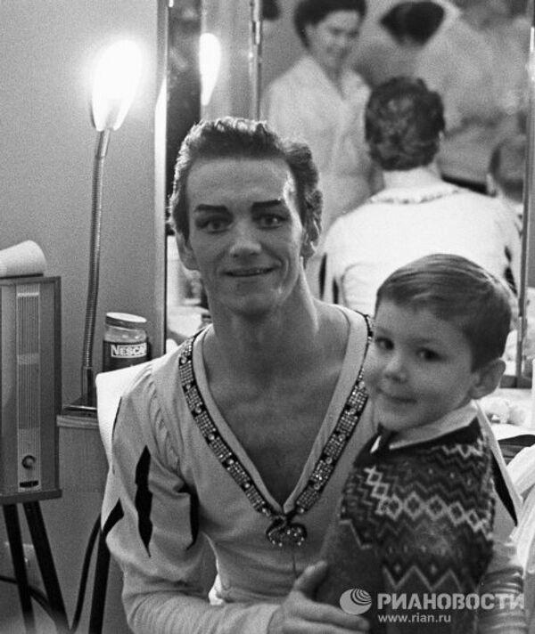 Марис Лиепа с сыном