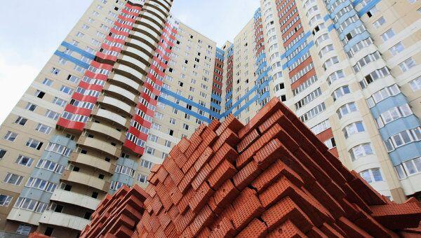 Строительство панельных домов в Москве. Архив