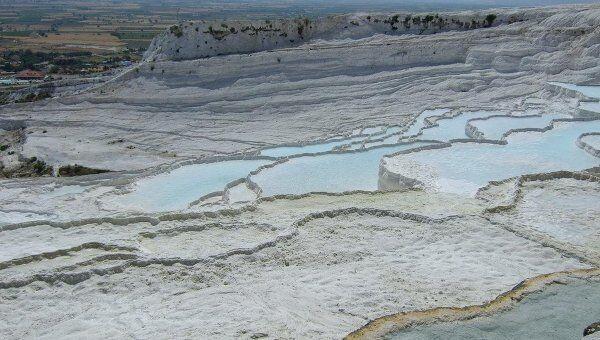 Турецкий термальный курорт Памуккале