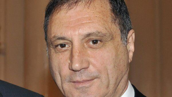 Премьер-министр Абхазии Сергей Шамба. Архив