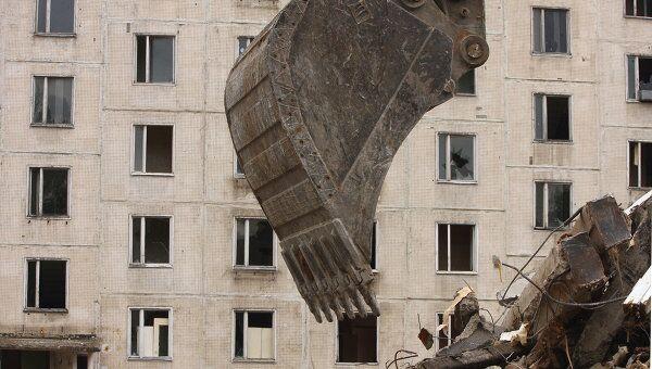 Снос пятиэтажных панельных домов