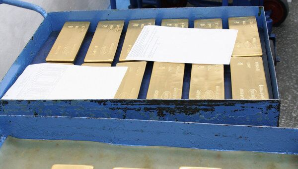 Золото подорожало на опасениях вокруг кризиса в Греции