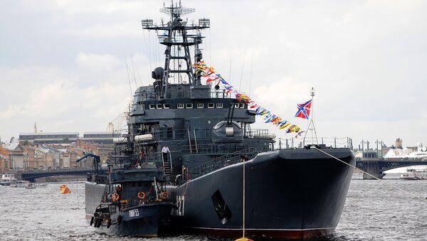 Десантный  корабль Минск. Архивное фото.