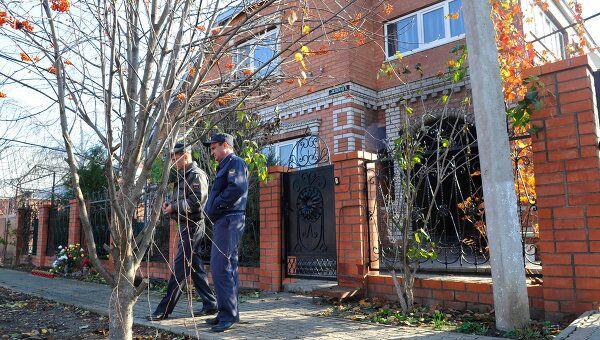 Частный дом в станице Кущевская, где произошло убийство 12 человек, архивное фото