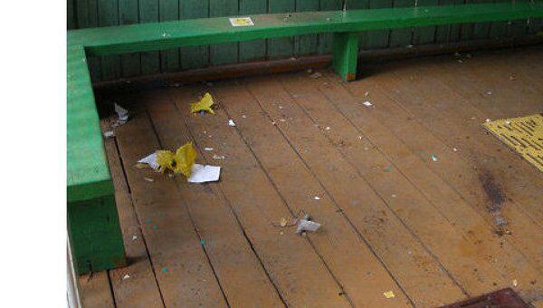 Место взрыва в детском саду Комсомольска-на-Амуре.