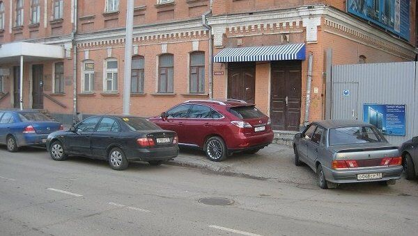 Незаконная парковка. Архив