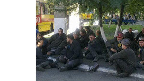 Вспышка метана на шахте Краснокутская на Украине