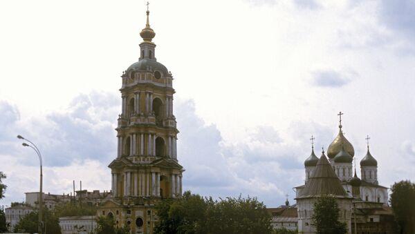 Новоспасский ставропигиальный мужской монастырь. Архивное фото