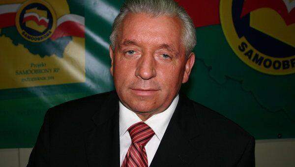 Анджей Леппер, лидер польской партии Самооборона. Архив