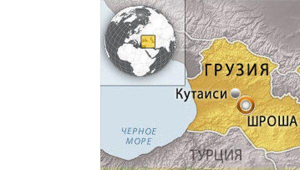 Село Шроша Зестафонского района Грузии