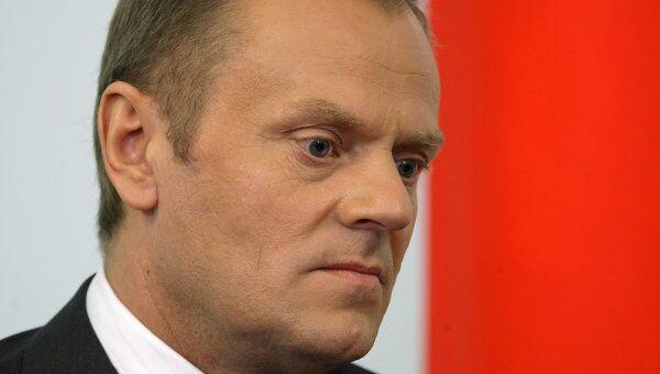Премьер-министр Польши Дональд Туск , архивное фото