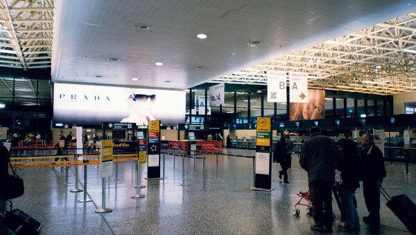 Зал вылета аэропорта Малпенса