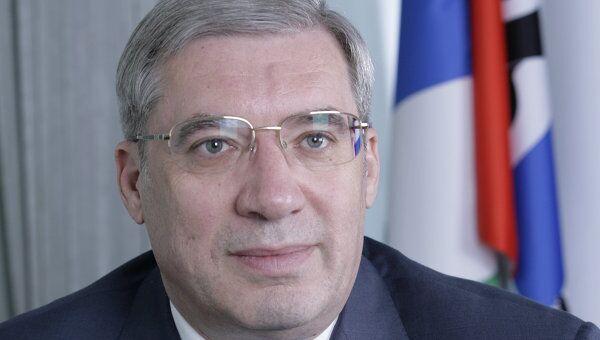 Губернатор Новосибирской области Виктор Толоконский. Архив