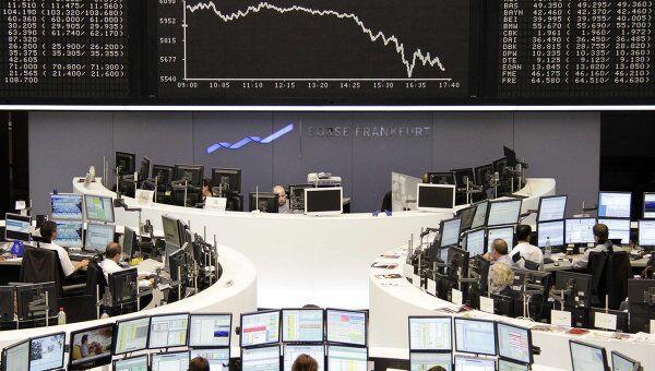 Франкфуртская фондовая биржа. Архив