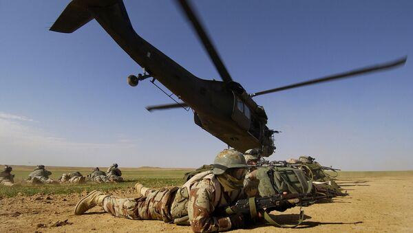 Американские военные в Афганистане