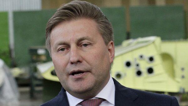 Генеральный директор ОАО Российская самолетостроительная корпорация МиГ Сергей Коротков. Архивное фото