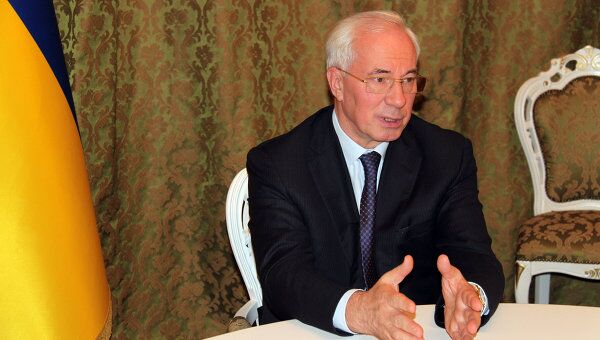 премьер Украины Николай Азаров