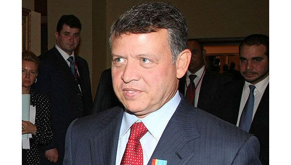Король Иордании Абдалла Второй