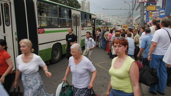 Общественный транспорт в Москве. Архив