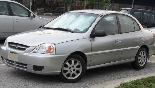 Автомобиль Kia Rio (седан). Архив