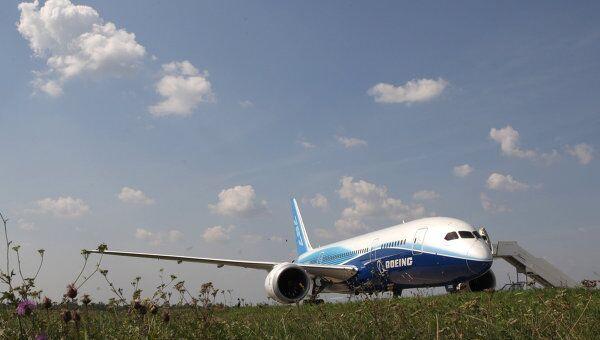 Самолет Boeing-787 Dreamliner. Архивное фото