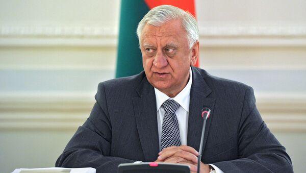 Председатель Совета Республики Национального собрания Белоруссии. Архивное фото