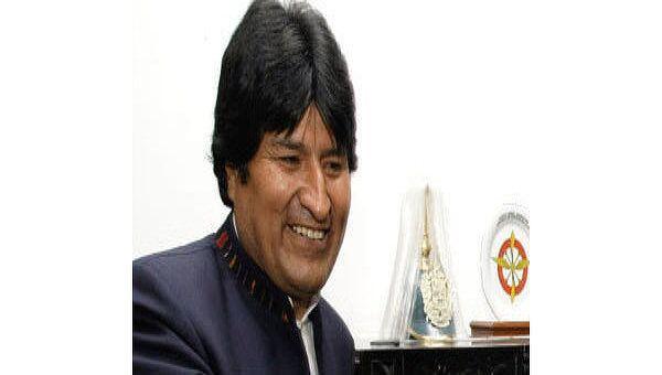 Президент Боливии Эво Моралес. Архив.