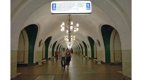 Станция метро ВДНХ. Архив