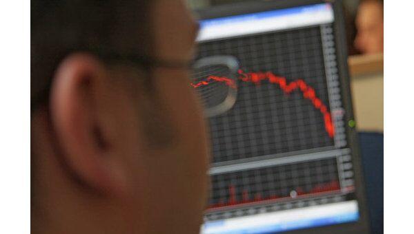 Индекс РТС на открытии упал на 0,04%, ММВБ - на 0,09%