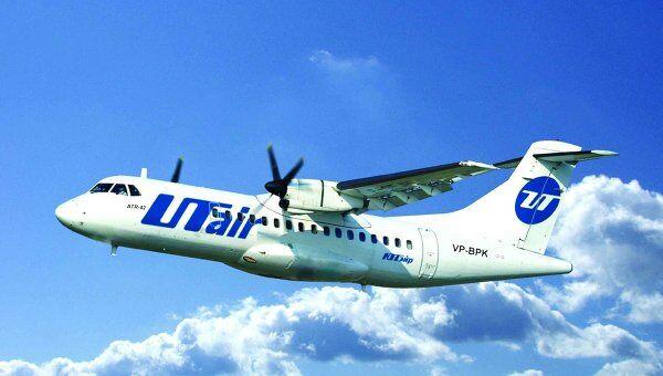 Самолет ATR-42 компании Utair. Архив