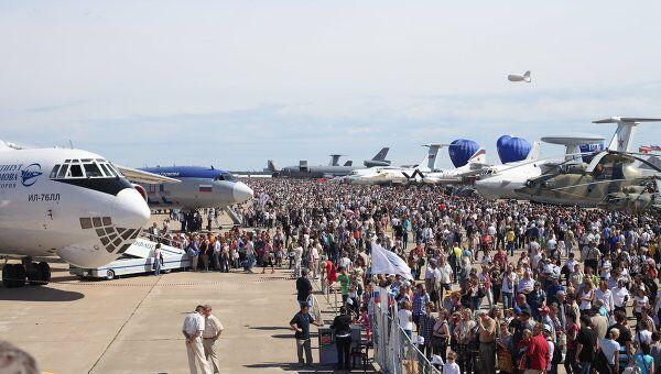 Авиасалон МАКС-2011. Архив