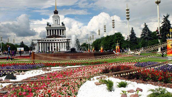 Московский фестиваль цветников и ландшафтной архитектуры