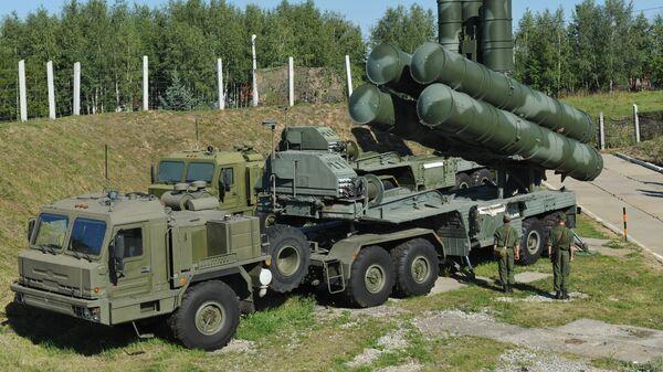 С-400 Триумф охраняет воздушные рубежи Москвы и центральных промышленных районов РФ