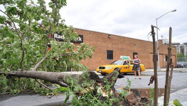 Последствия урагана Айрин в Нью-Йорке
