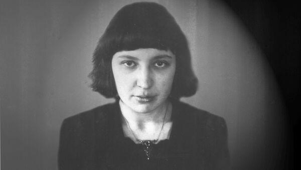 Марина Цветаева, 1914-1915 гг. Архивное фото